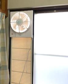 窓枠換気扇